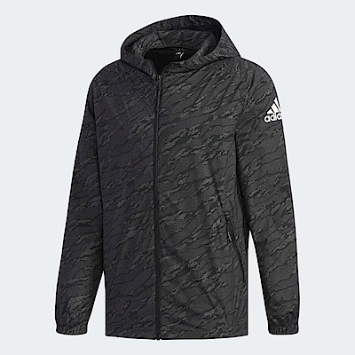 adidas 外套 Reflect Windbreaker 男款
