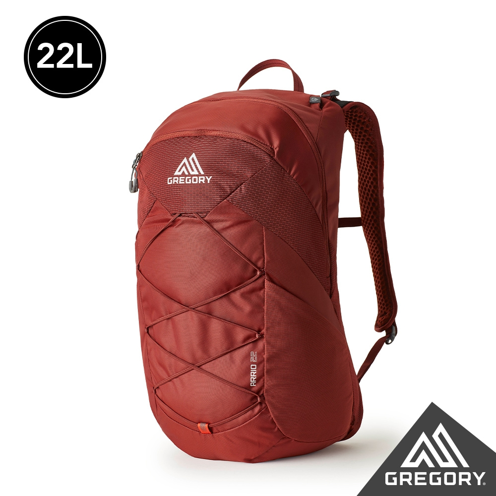 Gregory 22L ARRIO多功能登山背包 磚石紅
