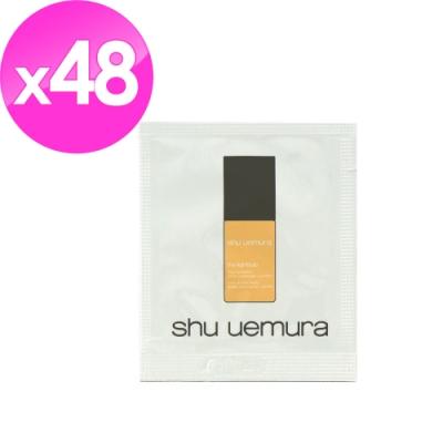 即期品)shu uemura植村秀 鑽石光極緻保濕粉底液1ml*48#764(202004