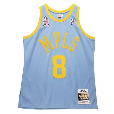 M&N Authentic球員版復古球衣 MPLS 湖人隊 01-02 #8 Kobe Bryant