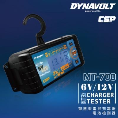 【CSP進煌】MT700多功能智慧型微電腦充電器(檢測器&充電器/6V/12V/鋰鐵充電)