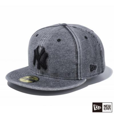 NEW ERA 59FIFTY SWEAT ITALIAN WASH 洋基 黑 棒球帽