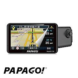 PAPAGO WayGO 730 7吋衛星導航+行車紀錄器