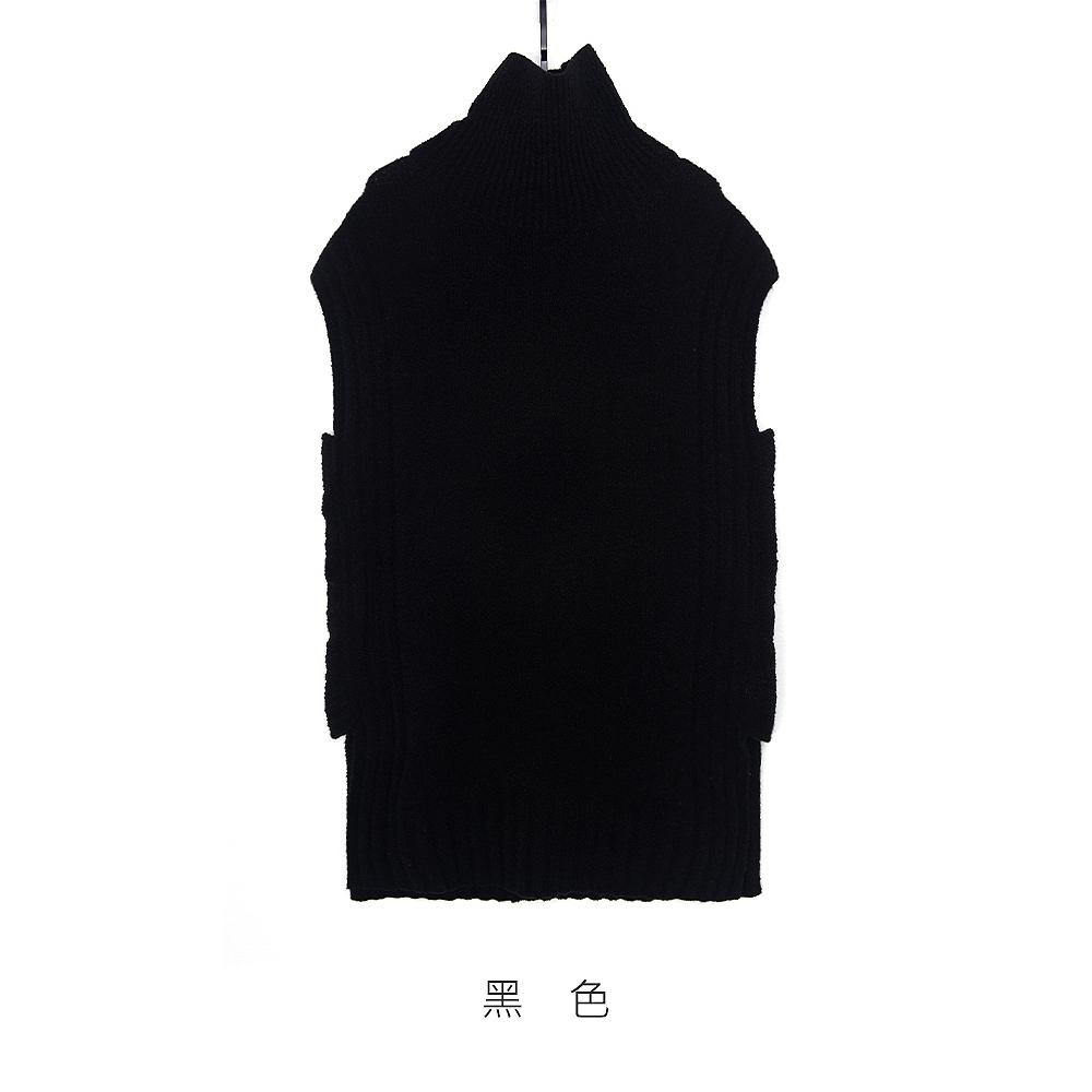 gozo 字母螺紋毛衣背心(二色)