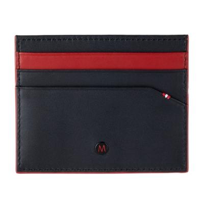 MONDAINE 瑞士國鐵 國徽系列6卡卡夾 – 黑x紅