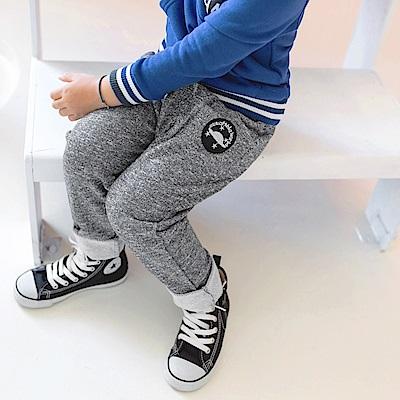 腰鬆緊綁帶口袋造型棉長褲-OB大尺碼