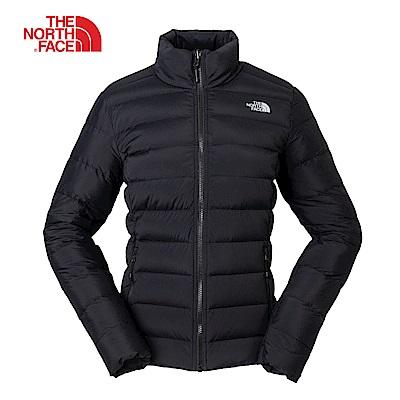 The North Face北面女款黑色羽絨防潑水外套|3O9EJK3