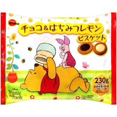 Bourbon北日本 蜂蜜檸檬&巧克力風味餅乾(220.8g)
