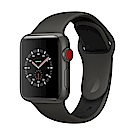 Apple Watch Edition(GPS+網路) 38mm灰色陶瓷錶殼+灰色配黑色運動錶帶