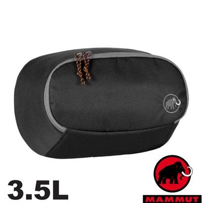 長毛象 Add-on Pocket 3.5L 防潑水多功能增加外袋(可當腰包)_黑