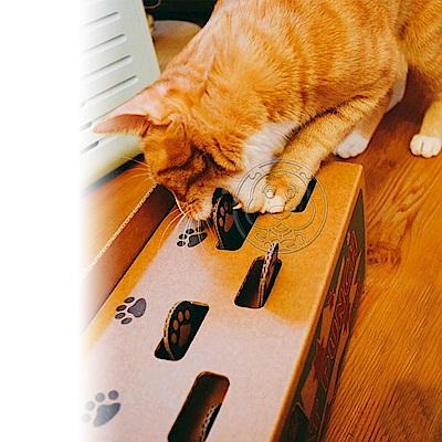 DYY》打地鼠瓦楞紙逗貓玩具13.5*30*15.5cm