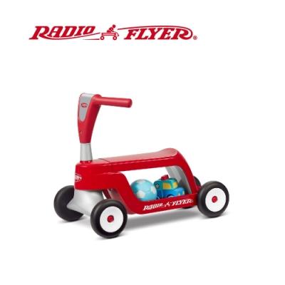 (時時樂限定) RadioFlyer 小浣熊二合一滑步滑板車#615型