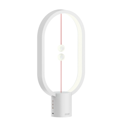 ZAN DESIGN HengPRO 衡 LED檯燈 2.0 烤漆款/橢圓形/白色