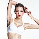 運動內衣黛安芬-Triaction零壓力無鋼圈版 D罩杯(輕巧白)