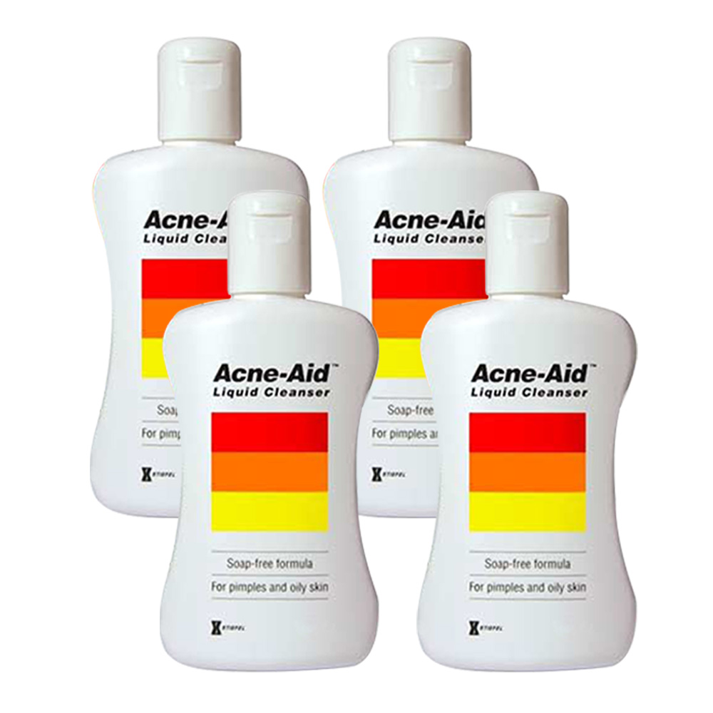 Acne-Aid愛可妮 潔面露(4入組)