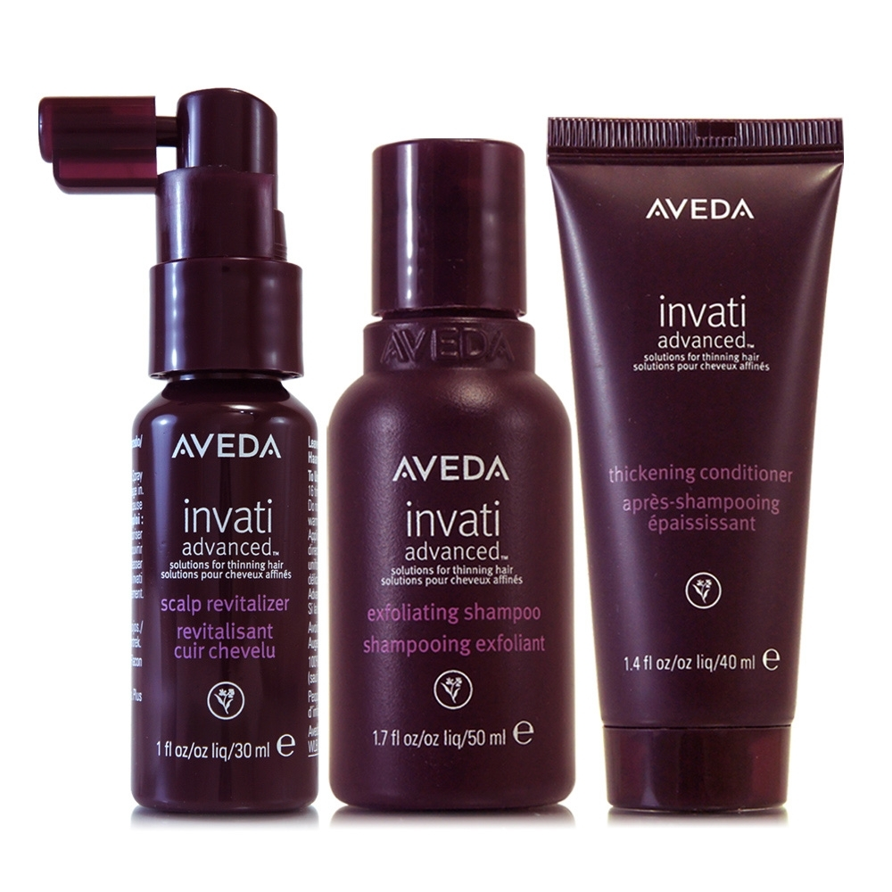 AVEDA 蘊活菁華洗髮精50ml+蘊活潤髮乳40ml+蘊活滋養液30ml(升級版)