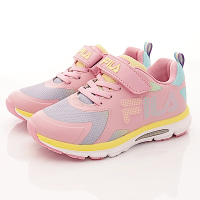 FILA頂級童鞋款 輕量漸層慢跑款 EI01R-599粉紫(大童段)0