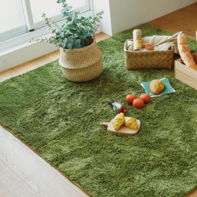完美主義 素色簡約方形地毯/止滑地毯-185X185CM(3色)