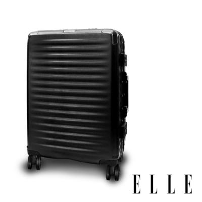ELLE Louvre-羅浮宮系列-28吋輕量PC材質行李箱-西奧多黑  EL31258