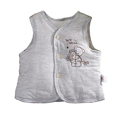 可愛熊鋪棉背心外套 k60791 魔法Baby