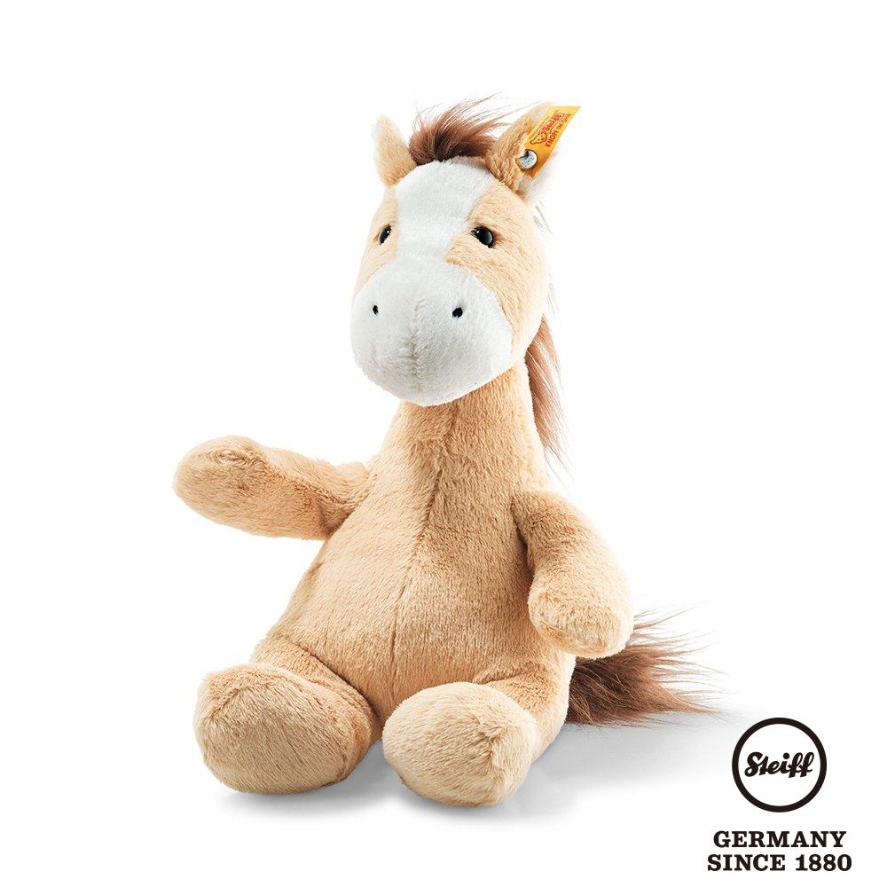 STEIFF德國金耳釦泰迪熊  Hippity Horse 帥氣小馬兒 (動物王國) 28cm