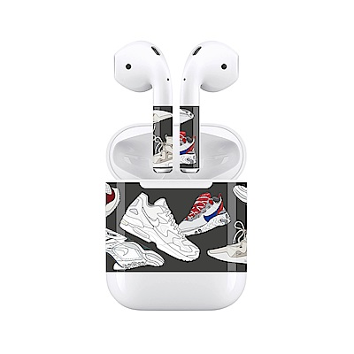 mogen AirPods 隨身耳機保護貼 街頭潮鞋款