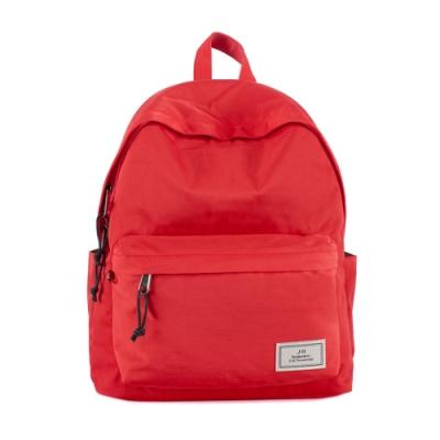J II 後背包 經典水洗防潑水後背包-紅色-6296-13