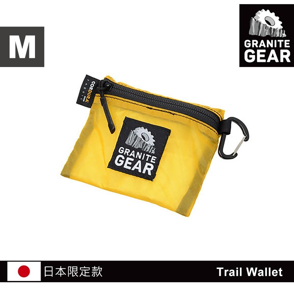 【日本限定款】Granite Gear 1000102 Trail Wallet 輕量零錢包(M) / 檸檬黃