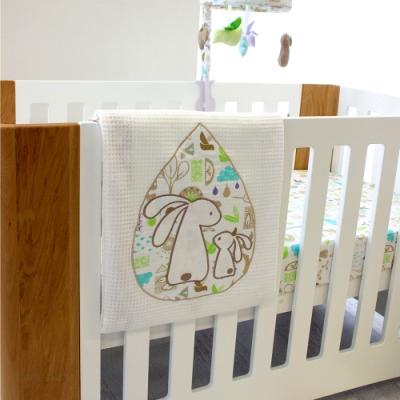 【澳洲BubbaBlue】超柔感舒眠毯禮盒-烏托邦兔