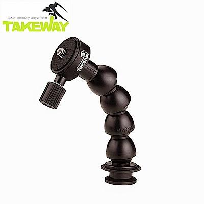台灣製造Takeway蛇頸延長桿T-FN01-相機望遠器材用