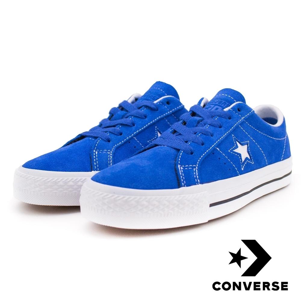 CONVERSE ONE STAR 男女休閒鞋 藍 159510C