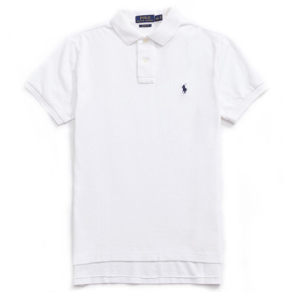 Polo Rlaph Lauren 經典電繡小馬Polo衫(Custom)-白色