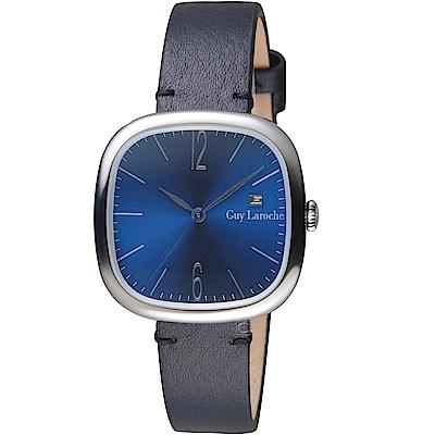 姬龍雪Guy Laroche Timepieces現代簡約時尚女錶(LW5045A-11)