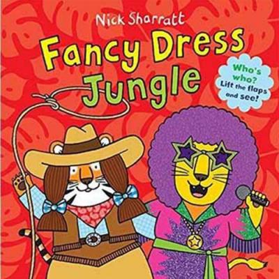 Fancy Dress Jungle 叢林變裝派對猜猜翻翻書