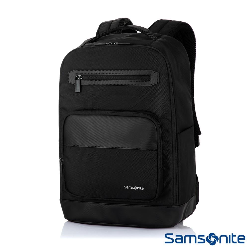 Samsonite新秀麗 Enprial-E 商務大容量筆電後背包(黑)