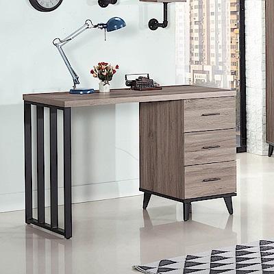 H&D 古橡木色4尺書桌