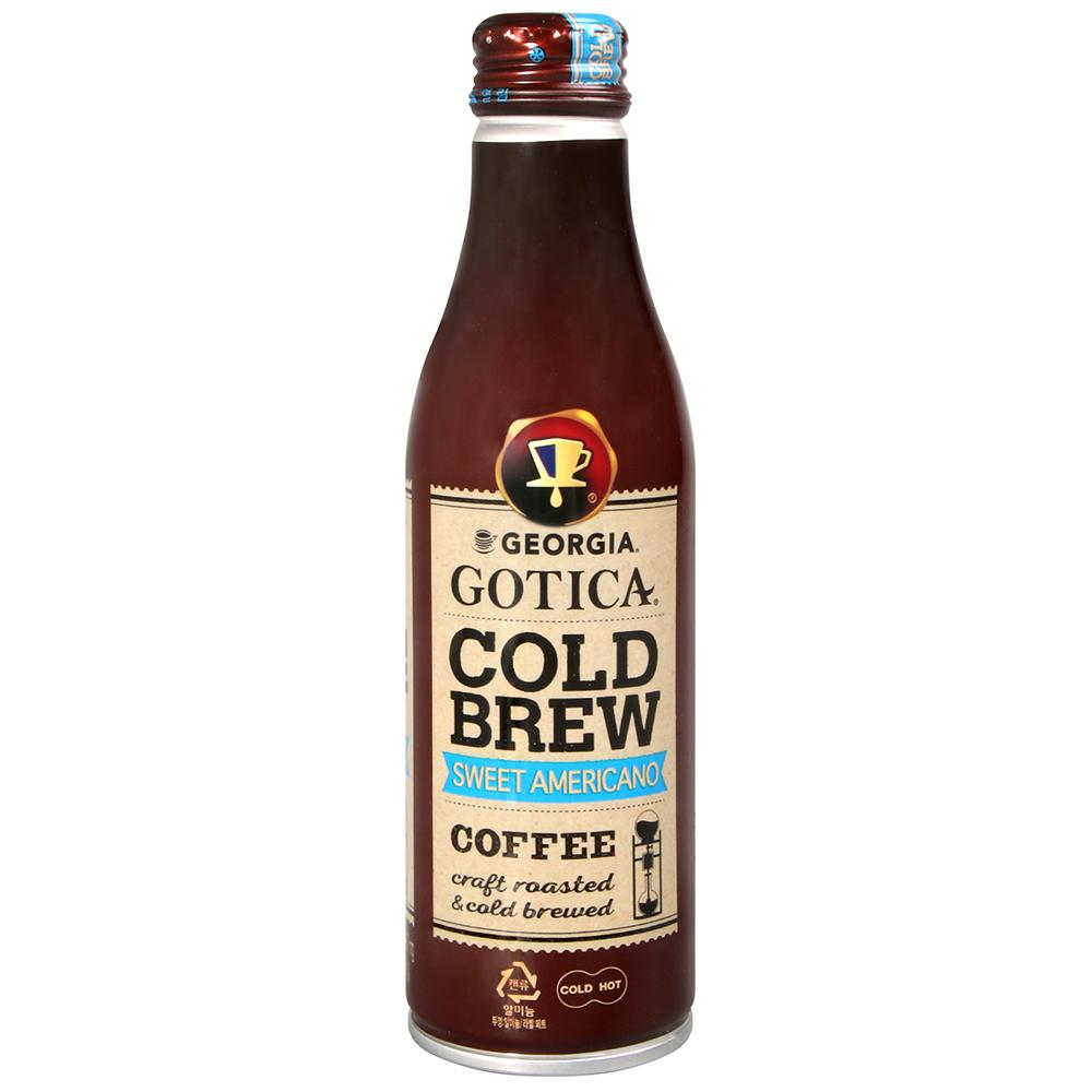 Coca Cola 喬治亞冰滴咖啡-美式香甜(265ml)