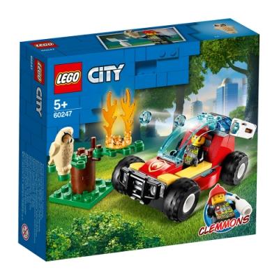 樂高LEGO 城市系列 - LT60247 森林火災