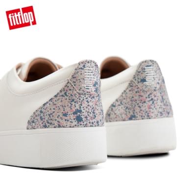 FitFlop RALLY GLITTER SNEAKERS休閒鞋-女(都會白)