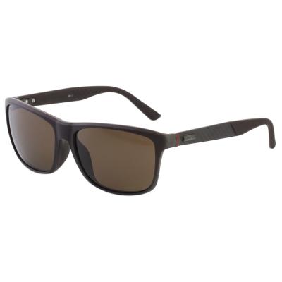 GUCCI 偏光太陽眼鏡 碳纖維 紅綠腳 (咖啡色)