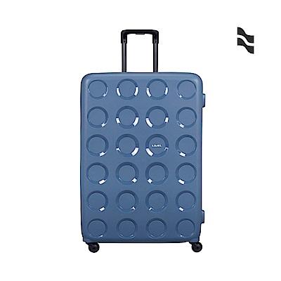 LOJEL VITA 32吋 防盜拉鍊箱 鋼藍 PP材質