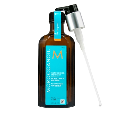 MOROCCANOIL摩洛哥優油125ml-限量版(無外盒,附壓頭)