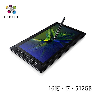 WACOM MobileStudio Pro 16 專業繪圖平板電腦 (i7 512GB)