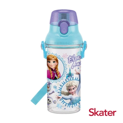 Skater直飲透明水壺 (480ml)冰雪奇緣
