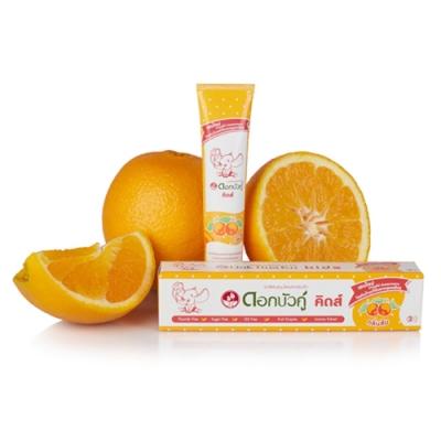 Twin Lotus雙蓮 皇室草本兒童健齒護齦牙膏(柳橙)35g