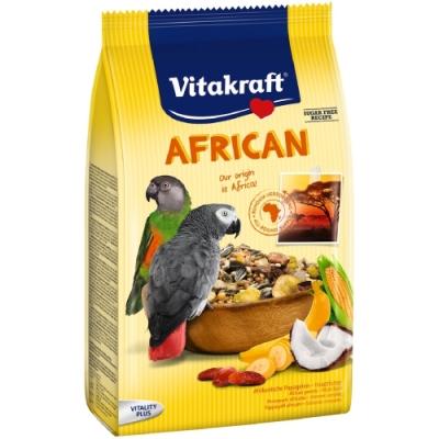 德國Vitakraft Vita-中大型鸚鵡-非洲鸚鵡總匯美食系列 (21640) 750g
