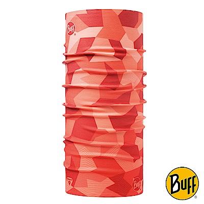 《BUFF》4倍保暖THERMONET動態恆溫頭巾 粉色彩塊 BF117993-560