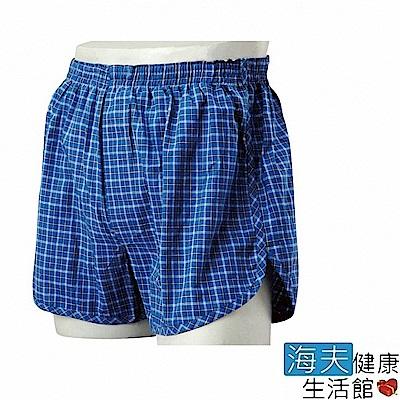 海夫 日本男用防漏安心褲 (藍格 / 80cc)