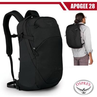 OSPREY 新款 Apogee 28L 超輕多功能城市休閒筆電背包_黑 R