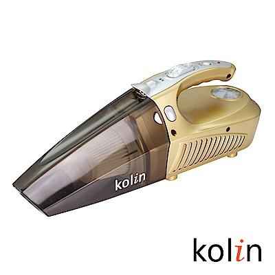 歌林Kolin車用吸塵器KTC-HC1500(吸塵、充氣、照明、測胎壓)